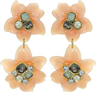 Women's Drama Double Drop Earrings