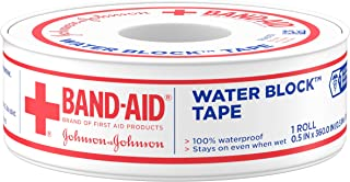 Bandaid First Aid 1/2 in X 10 yd Waterproof Tape 1 ct