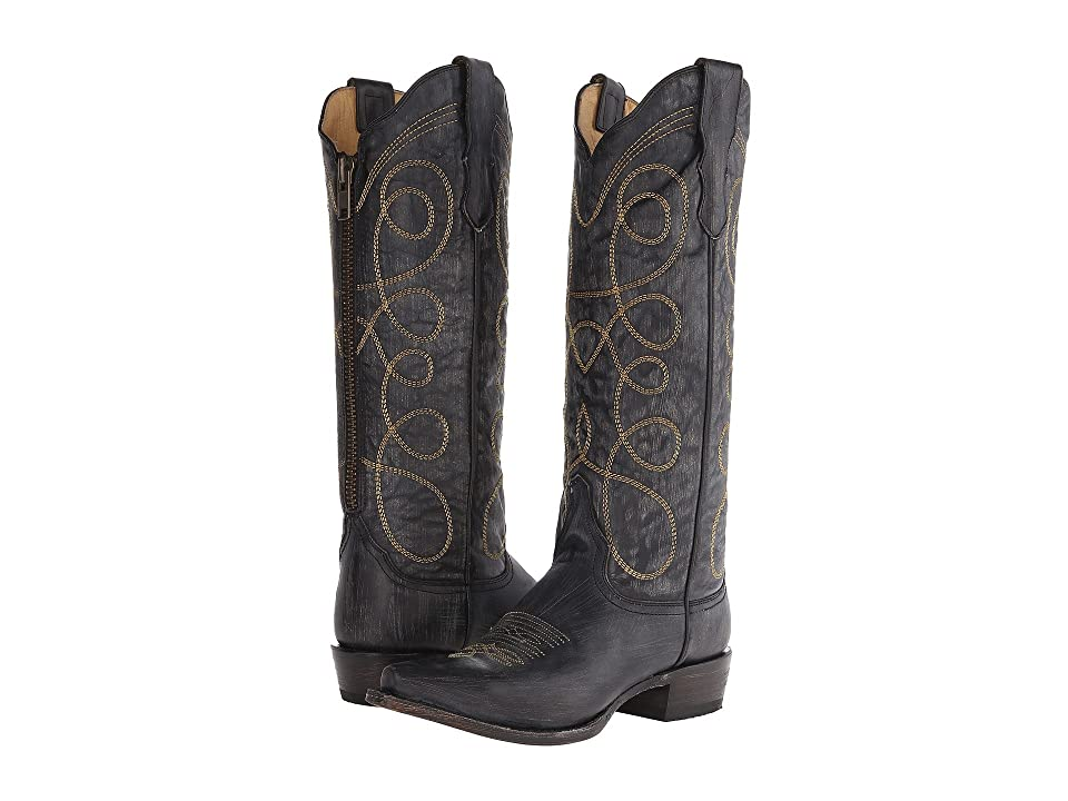 Stetson Abigail (Black Sanded and Distressed) Women