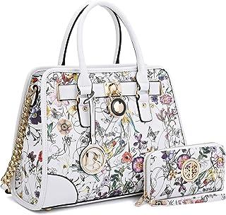 af848b121b9b Women Designer Handbags and Purses Ladies Satchel Bags Shoulder Bags Top  Handle Bags w Matching