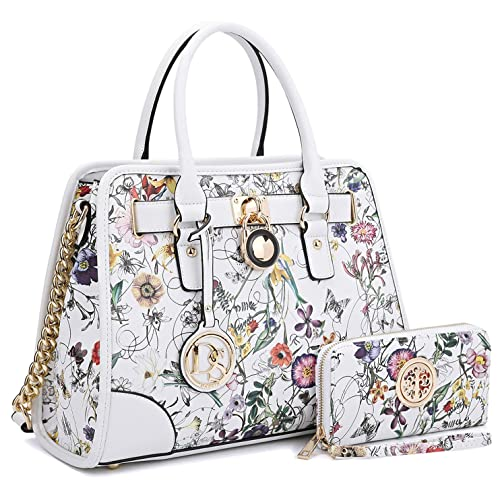 cc3e959d4034 Women Designer Handbags and Purses Ladies Satchel Bags Shoulder Bags Top  Handle Bags w Matching