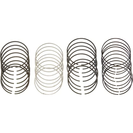 Hastings 2M6606020 8-Cylinder Piston Ring Set