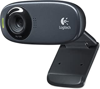 Logitech C310 Webcam - Black - USB 2.0-1 Pack(S)