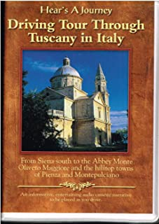 Driving Tour Through Tuscany in Italy from Siena South to the Abbey Monte Oliveto Maggiore and the Hilltop Towns of Pienza and Montepulciano