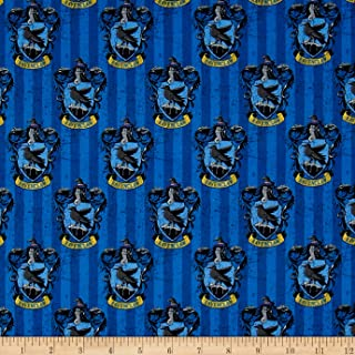 CAMELOT Fabrics 0491197 Harry Potter Digital Ravenclaw Multi Fabric by The Yard, Multicolor