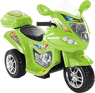 Lil' Rider Ride-On Toy Trike Motorcycle –Battery Operated Electric Tricycle for Toddlers with Built-in Sound and Working H...