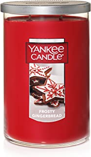 Yankee Candle Large 2-Wick Tumbler Scented Candle, Frosty Gingerbread