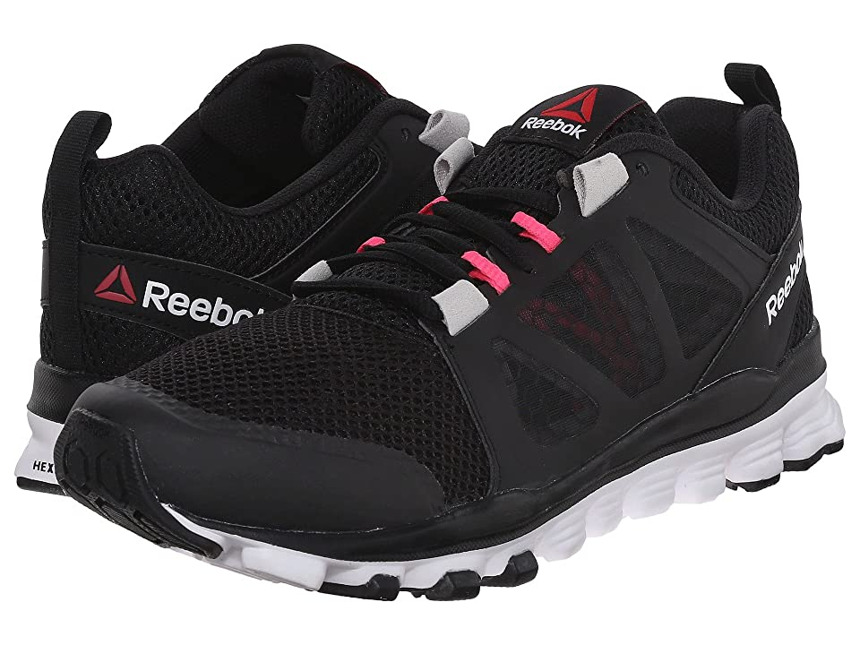 Reebok Hexaffect Run 3.0 MTM (Black/Steel/Pink) Women