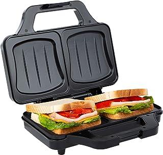 Ultratec Toasteur pour sandwichs en coquille électrique, machine à sandwich pour toast XXL, plaques antiadhésives, mini to...