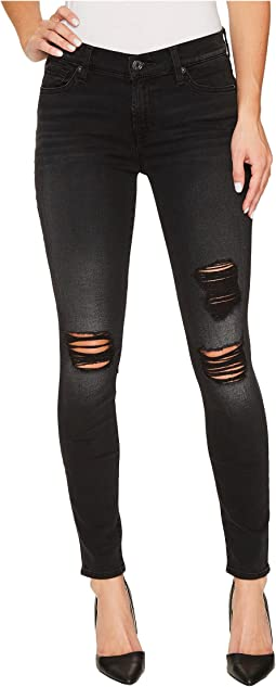 The Ankle Skinny w/ Destroy in Aged Onyx