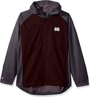 Ouray Sportswear NCAA Mississippi State Bulldogs Womens Full Zip Lightweight Hoodie