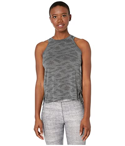 New Balance Q Speed Jacquard Tank (Heather Charcoal) Women