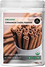 Naturevibe Botanicals Organic Cinnamon Cassia Powder, 1lb | Non-GMO and Gluten Free | Adds Flavor (16 ounces)