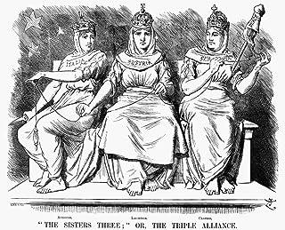 Triple Alliance 1888 NThe Sisters Three Or The Triple Alliance English Cartoon By Sir John Tenniel 1888 Likening The Tripl...