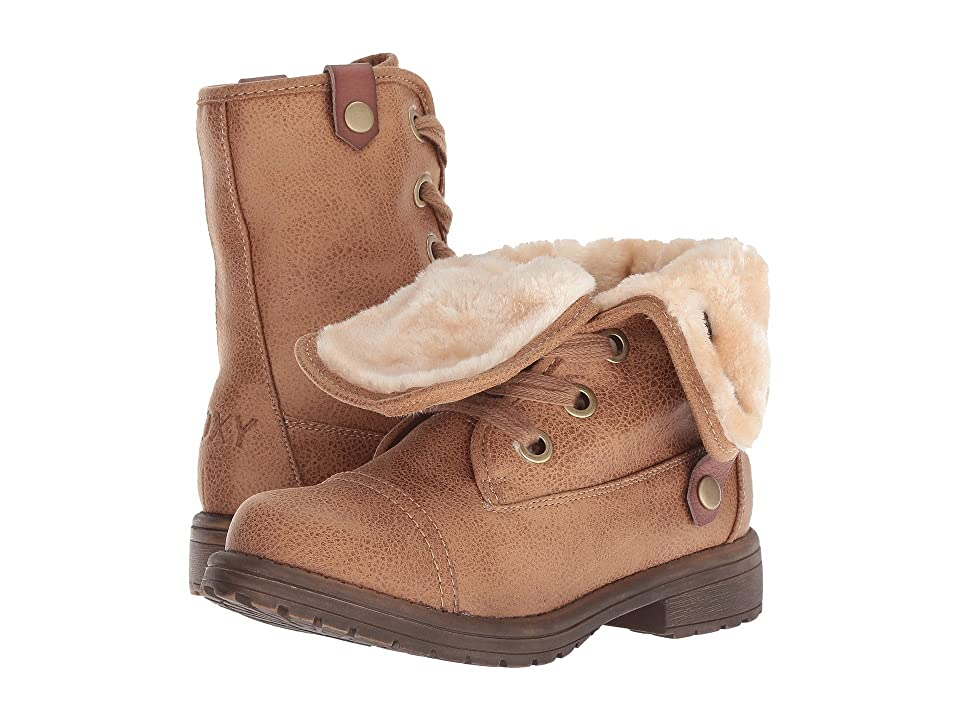 Roxy Kids Bruna (Little Kid/Big Kid) (Tan) Girls Shoes