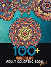 100+ Mandalas adult coloring book Vol.1+2: large coloring pages for relaxation and stress relief to get rid of bad vibes