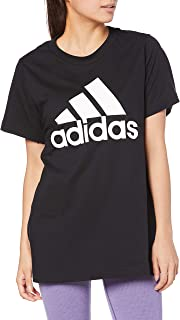 adidas Originals Women's Badge of Sport Moto Block Tee Short Sleeves T-Shirt