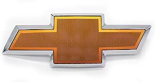 Front Grille Bowtie Emblem Gold Compatible with 2003-2007 Chevrolet Avalanche Silverado
