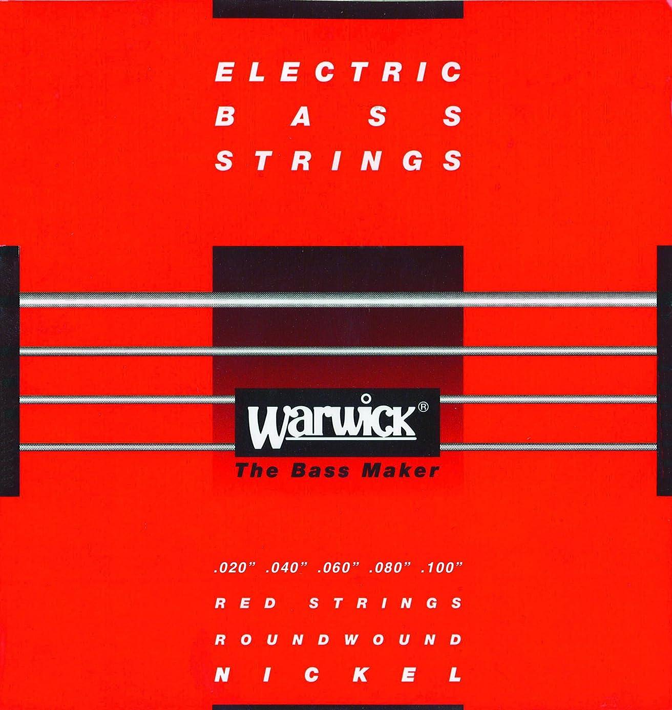 不幸打たれたトラック鉱夫WARWICK ワーウィック エレキベース弦 5弦セット ニッケルメッキ 46310 Medium Light High C 020/100