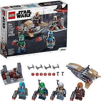 Amazon Com Lego Star Wars Mandalorian Battle Pack 75267 Mandalorian Shock Troopers And Speeder Bike Building Kit Great Gift Idea For Any Fan Of Star Wars The Mandalorian Tv Series New 2020 102