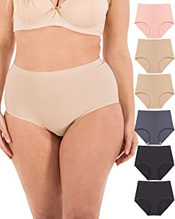 Seamless Laser Cut Breathable Sports Womens Panty Underwear Small to Plus Size