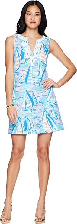 154c32a9fcd5e7 Equipment sleeveless adalyn dress periwinkle multi, Lilly Pulitzer ...