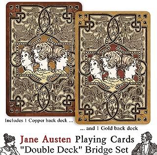 Prospero Art Jane Austen Double Deck Playing Card Set