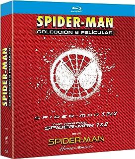 Spider Man 1-6 (BD) [Blu-ray]