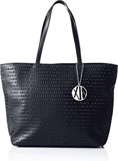 Armani Exchange Tote Bag  for Women-Navy
