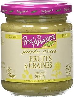 Perl'Amande Purée Fruits/Farines Bio 200 g - Lot de 2