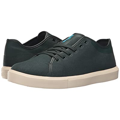 Native Shoes Monaco Low (Botanic Green Wax/Bone White) Lace up casual Shoes