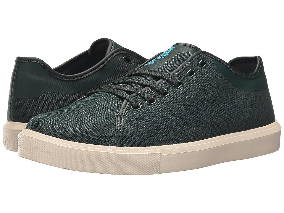 Native Shoes Monaco Low (Botanic Green Wax/Bone White) Lace up casual Shoes
