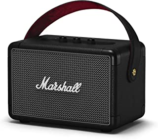 Marshall Kilburn II Portable Bluetooth Speaker, Water-Resistant Wireless Bluetooth Speaker, with 20+ Hours of Portable Pla...
