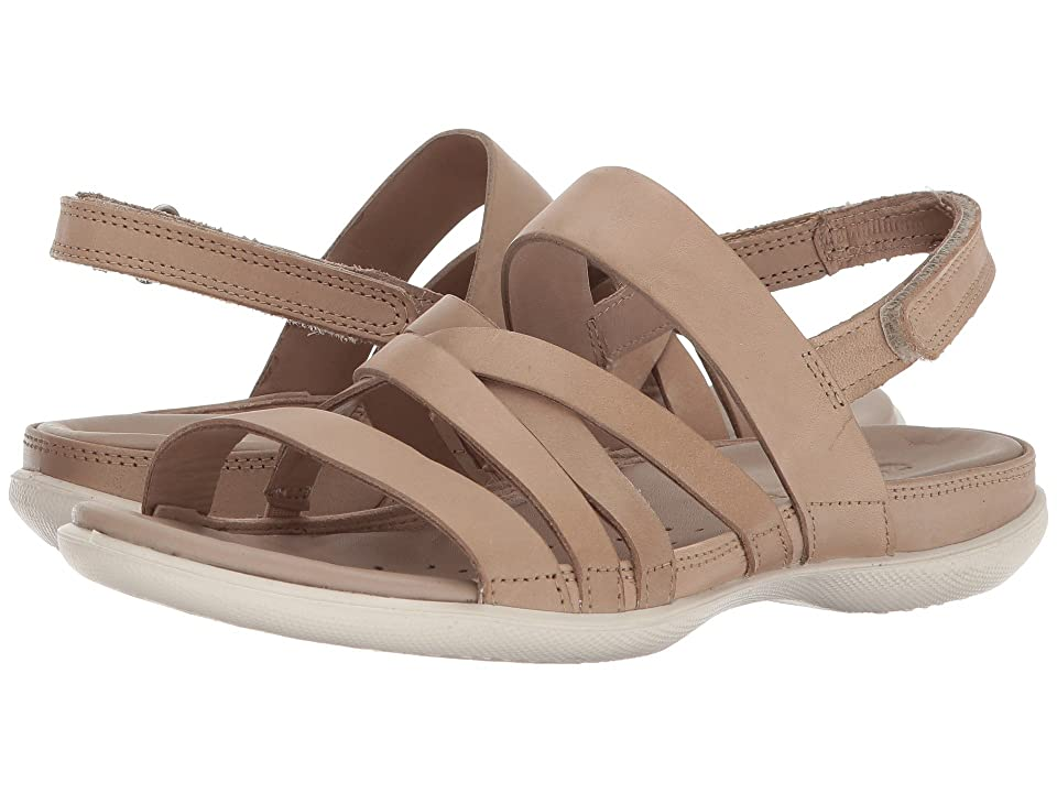 ECCO Flash Casual Sandal (Dune Cow Leather) Women