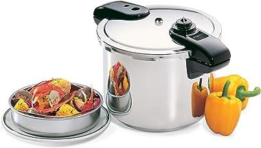 Presto 01370 8-Quart Stainless Steel Pressure Cooker