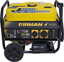 Firman P03608 4550/3650 Watt Remote Start Gas Portable Generator CARB Certified with..