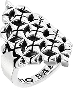 King Baby Studio - MB Cross Shield Ring
