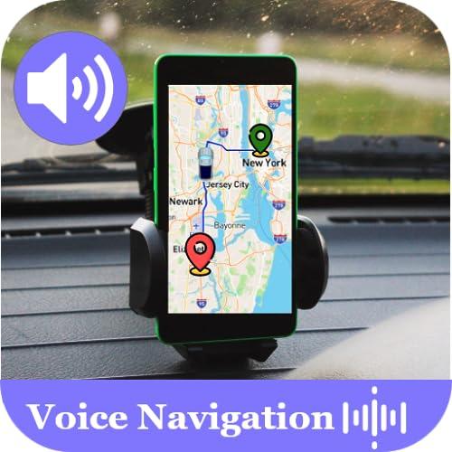 Voice GPS Driving Navigation & Satellite Mapsm