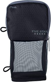 Five Star Pencil Pouch, Pen Case, Fits 3 Ring Binder, Stand 'N Store, Color Selected For You (50516)