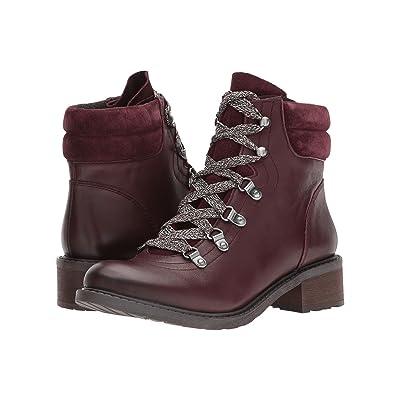 Sam Edelman Darrah (Malbec Modena Calf Leather/Velutto Suede Leather) Women