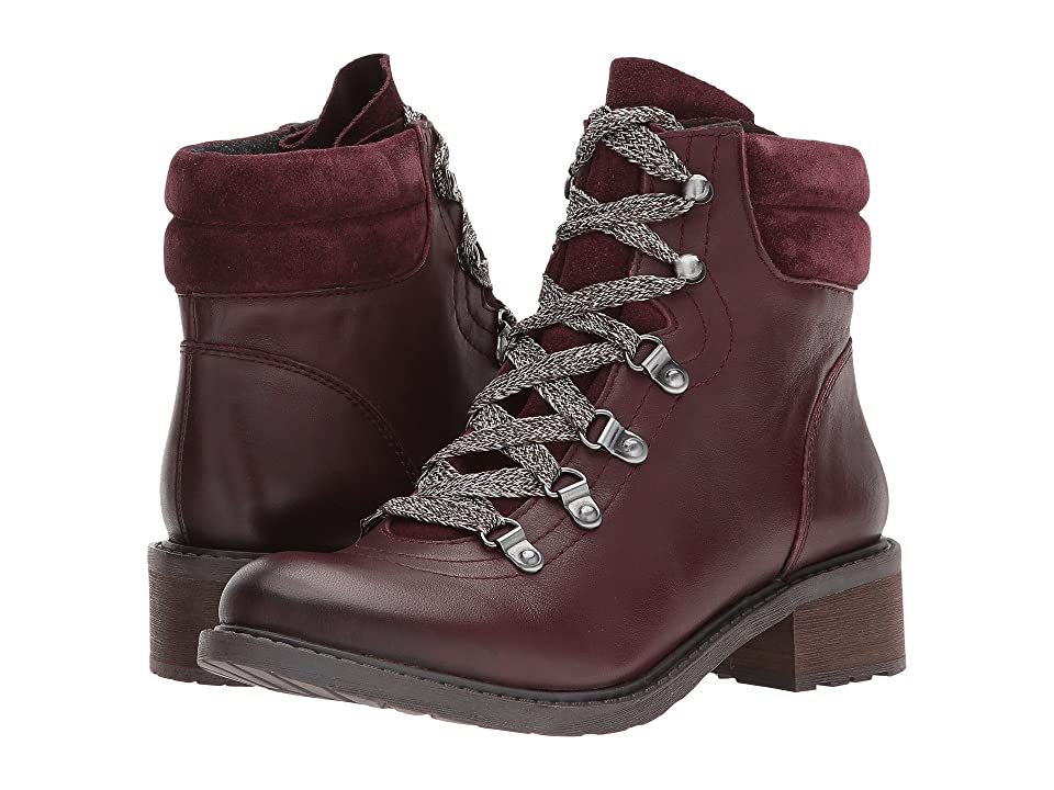a5ff110e4 Sam Edelman Darrah (Malbec Modena Calf Leather Velutto Suede Leather) Women s  Lace-up Boots
