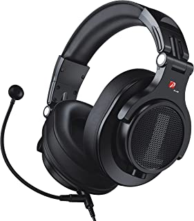 $32 » Sponsored Ad - Prosonic DJ2KG Headsets with Boom Mic, Office Wired Over Ear Headphones for Business Meeting Skype Zoom Cal...