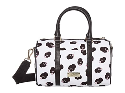 Alice + Olivia Nina Small Printed Nylon Gym Bag (Stace Face) Duffel Bags