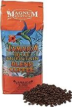 Jamaican Blue Mountain Coffee Blend, Whole Bean - Medium Roast, Fresh Strong Arabica Coffee - Rich And Smooth Flavor - Magnum Exotics, 2 Lb Bag