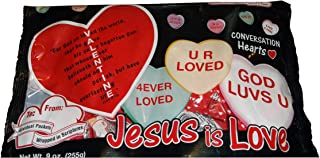 scripture candy hearts