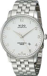 MIDO - 0 - Reloj de automático para Hombre, con Correa de Acero Inoxidable, Color Plateado
