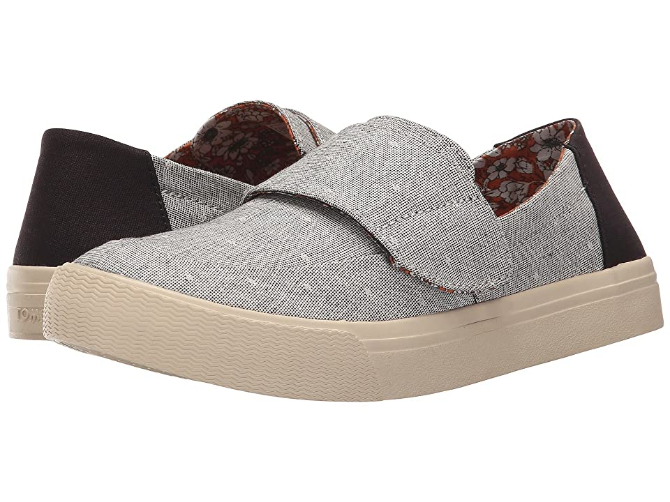 TOMS Altair Slip-On (Grey Chambray Dot) Women
