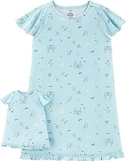 New Girls Masha and the Bear Nightie Nightgown Pyjamas Nightdress Summer Dress