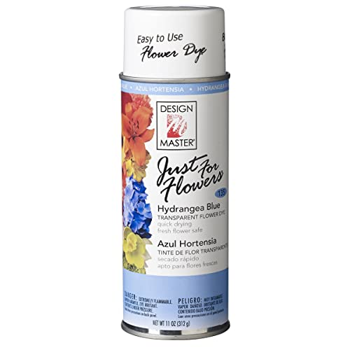 Design Master Just for Flowers Spray Dye Light Blue 4 Piece
