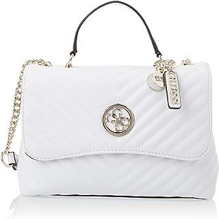 Guess Womens Handbag, White - VG766318
